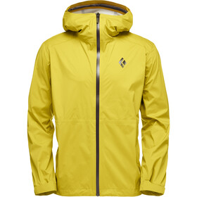Black Diamond Stormline Stretch Rain Shell Jacket Men sulphur